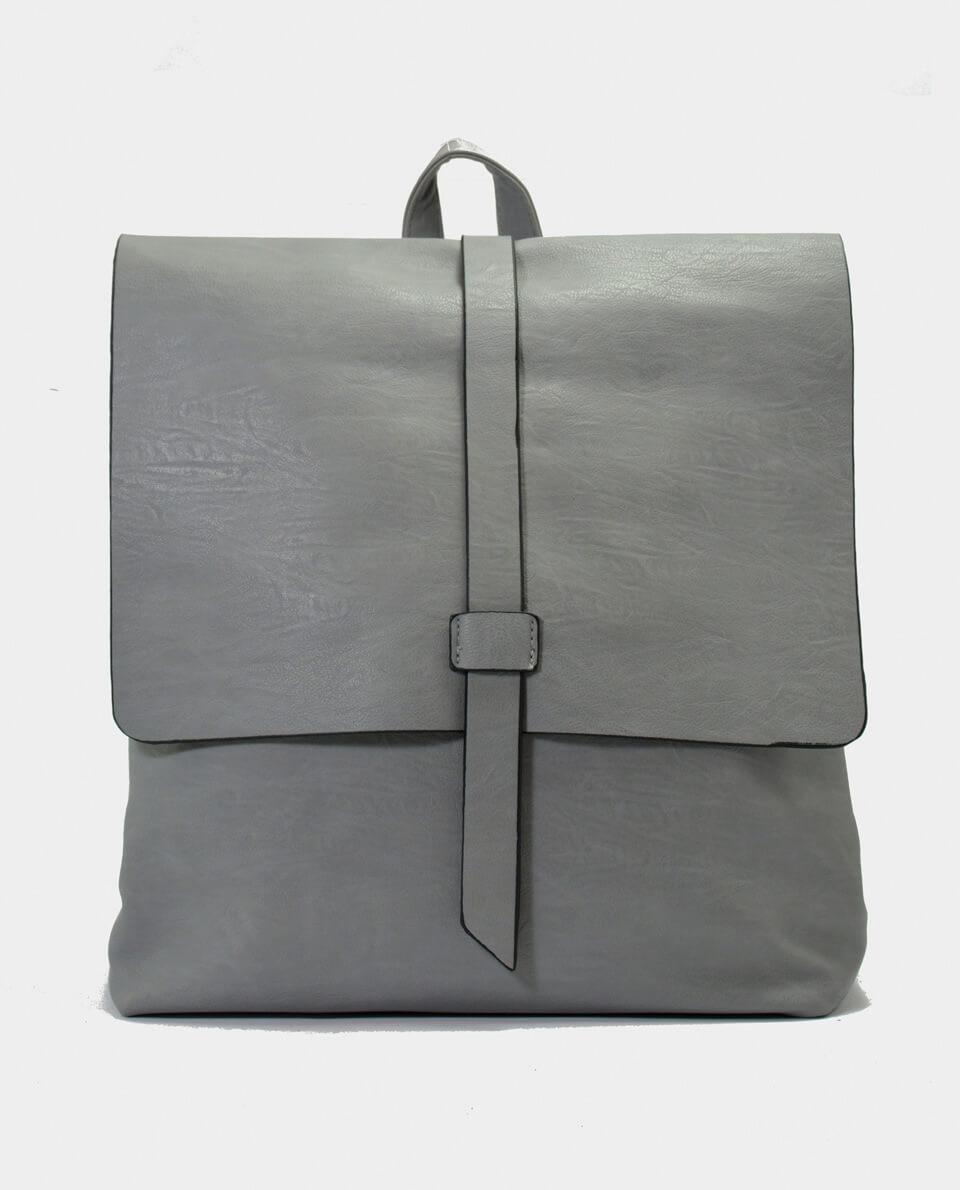 Γκρι τσάντα πλάτης - KENNEDY SHOES 1b8b517c062