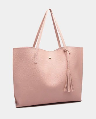 "ΡΟΖ TEXTURED TOTE BAG ""MISS LULU"" · ΤΣΑΝΤΕΣ ... 1752b77f414"